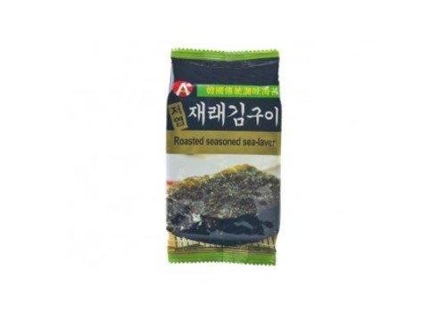 Hosan Roasted Seaweed snack, 3x5g