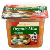 Organic Red Miso Paste, 500g