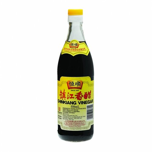 Heng Shun Chinkiang Black Rice Vinegar, 550 ml
