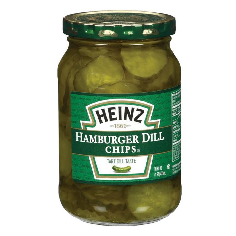 Hamburger Dill Chips, 473ml