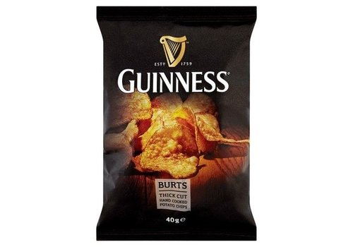 Guinness Potato Crisps, 40g