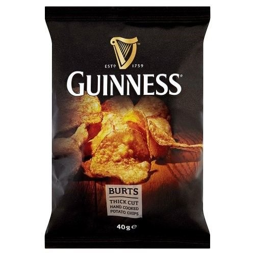 Guinness Potato Crisps, 40g