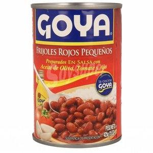 Goya Small Red Beans in Sauce, 425g