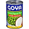 Goya Green Pigeon Peas with Coconut, 493g