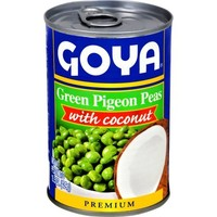 Green Pigeon Peas with Coconut, 493g
