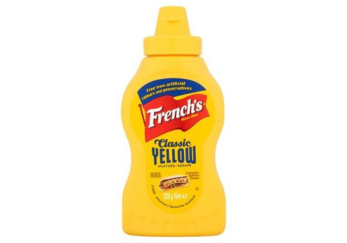 French's Classic Yellow Mustard, 226g