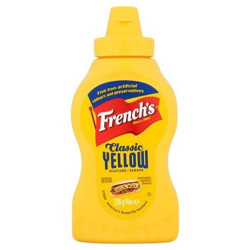 French's Classic Yellow Mustard, 226g