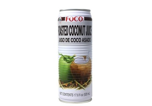 Foco Roasted Coconut Juice, 520ml