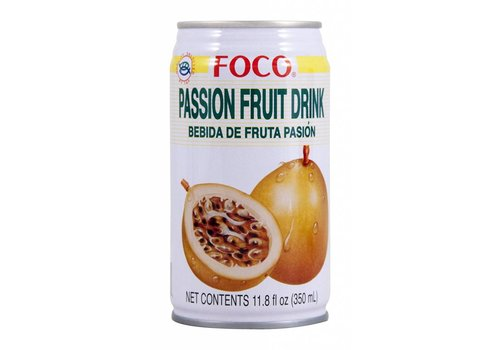 Foco Passionfruit Drink, 350ml