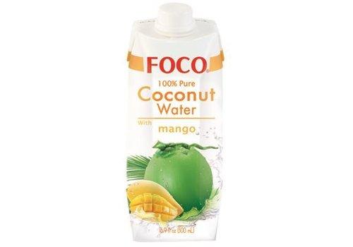 Foco Coconut Water Mango, 500ml
