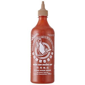 Flying Goose Sriracha Chilli Sauce with Garlic, 455ml