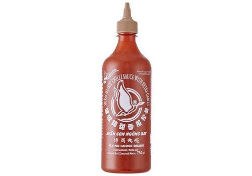 Flying Goose Sriracha Chilli Sauce with Garlic, 455ml