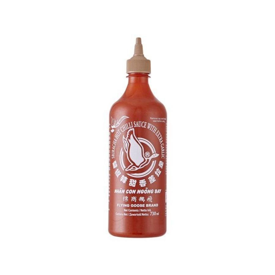Sriracha Chilli Sauce with Garlic, 455ml
