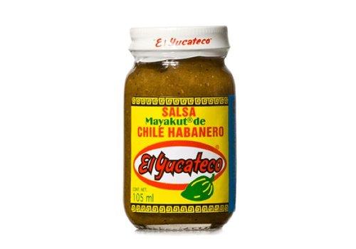 El Yucateco Salsa Mayakut de Chile Habanero, 105ml