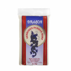 Gebroken Pandan Rijst, 4,5kg