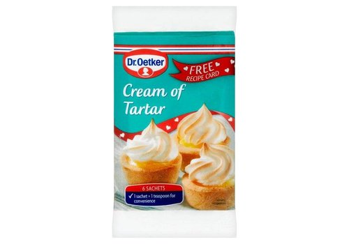 Dr. Oetker Cream of Tartar, 5g
