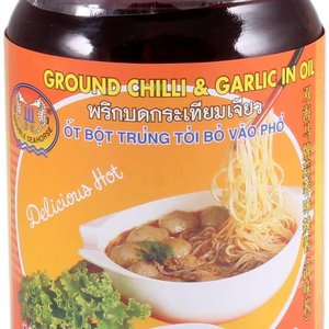 Ground Chili & Garlic in Oil, 227g