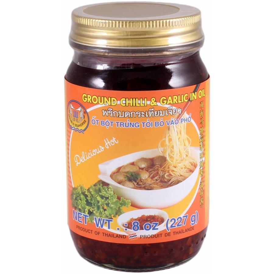 Ground Chili & Garlic in Oil, 227g