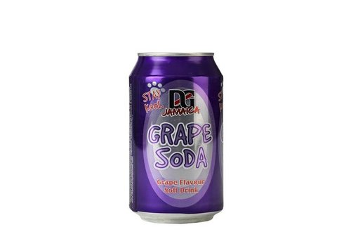 D&G Grape Soda, 330ml