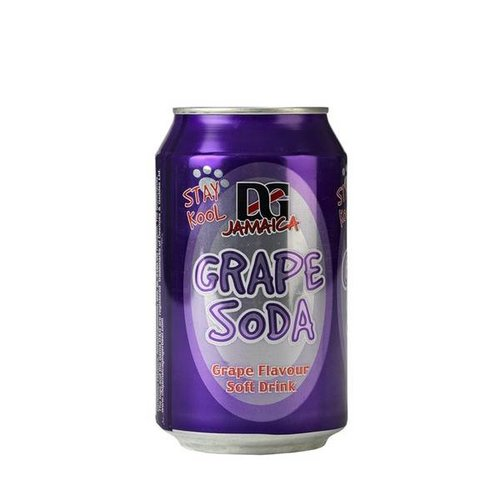 D&G Grape Soda, 330ml