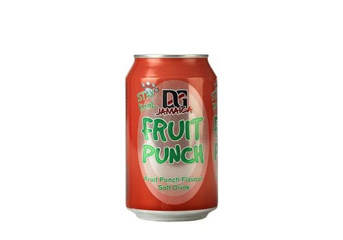 D&G Fruit Punch Soda, 330ml