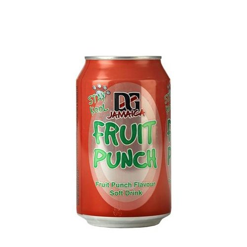 D&G Fruit Punch Soda, 330ml