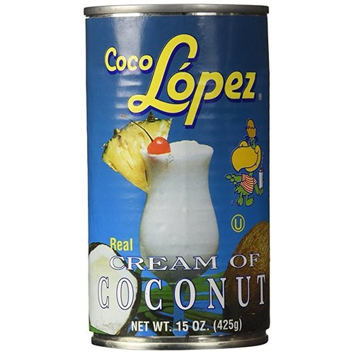 Coco Lopez Coconut Cream, 425g