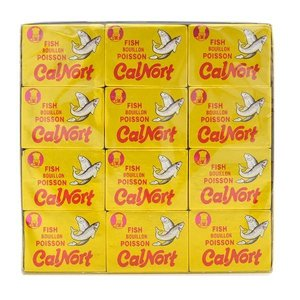 Calnort Fish Bouillon Cubes, 360g
