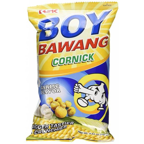Boy Bawang Cornsnack with Garlic Flavour, 100g