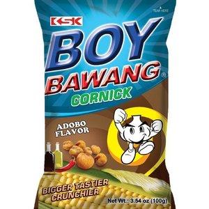 Boy Bawang Cornsnack Adobo, 100g