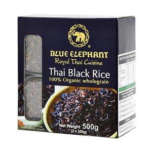 Blue Elephant Biologische Zwarte Rijst, 500g