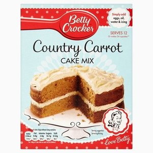Betty Crocker Country Carrot Cake Mix, 425g