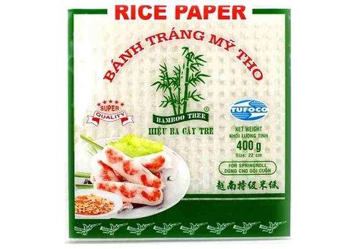 Tufoco Rice Paper Square 22cm, 400g