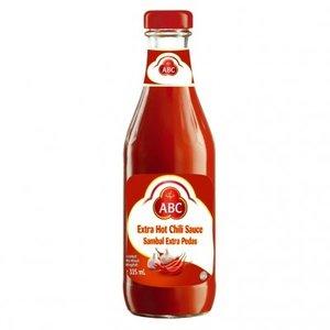 ABC Extra Hot Chili Sauce, 335ml
