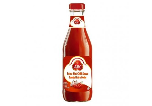ABC Extra Hot Chili Sauce, 335ml