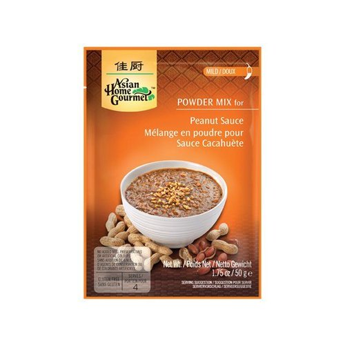 Asian Home Gourmet Peanut Sauce Mix, 50g