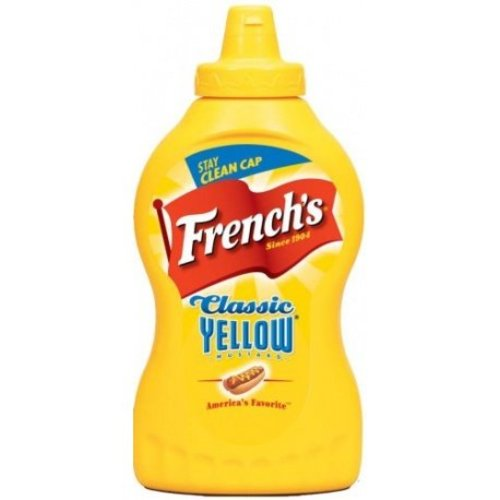 French's Yellow Mustard, 396g