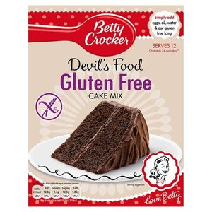 Betty Crocker Betty Crocker Gluten Free Devil Food Cake Mix, 425g