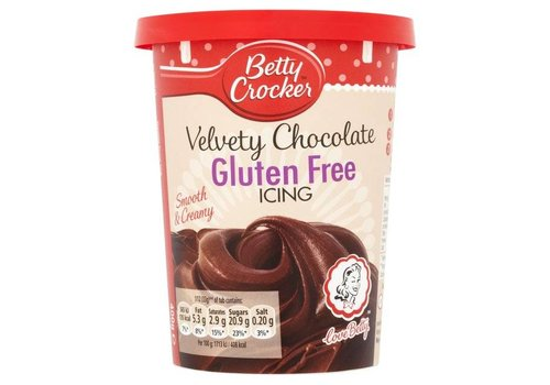 Betty Crocker Gluten Free Chocolate Icing, 400g