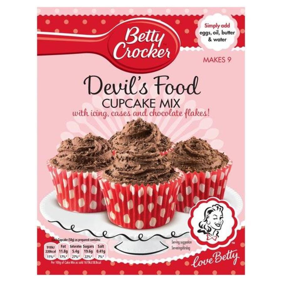 Betty Crocker Devils Food Cupcake Mix, 277g