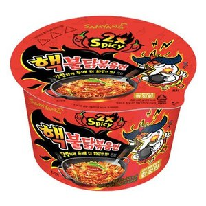 Samyang 2x Spicy Bowl Hot Chicken Flavor Ramen, 105g