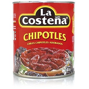 La Costena Chipotle in Adobo, 2.8kg