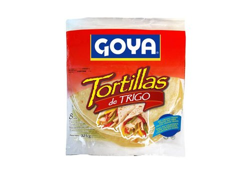 Goya Wheat Tortillas, 8pcs