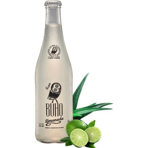 Buho Soda Buho Limon Menta, 355ml