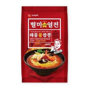 Sempio Sempio Cham Pong Spicy Noodle Soup, 439g
