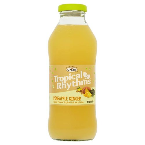 Grace Pineapple Ginger drink, 475ml