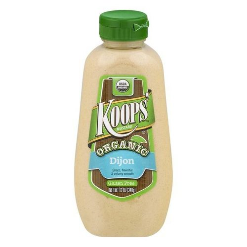 Koop's Organic Dijon Mustard, 340g