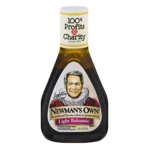 Newman's Own Light Balsamic Dressing, 473ml
