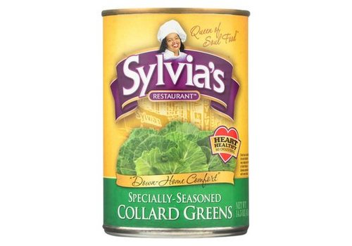 Sylvia's Seasoned Collard Greens, 411g