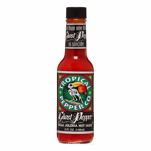 Tropical Pepper Co Naga Jolokia Hot Sauce, 148ml